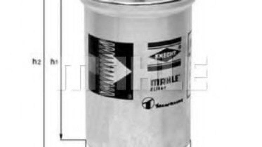 Filtru combustibil SEAT ALHAMBRA (7V8, 7V9) (1996 - 2010) MAHLE ORIGINAL KL 2 produs NOU