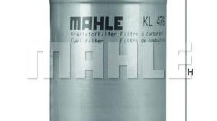 Filtru combustibil SEAT ALHAMBRA (7V8, 7V9) (1996 - 2010) MAHLE ORIGINAL KL 476D produs NOU