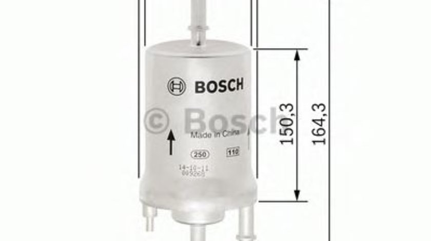 Filtru combustibil SEAT IBIZA V ST (6J8, 6P8) (2010 - 2016) BOSCH F 026 403 006 produs NOU