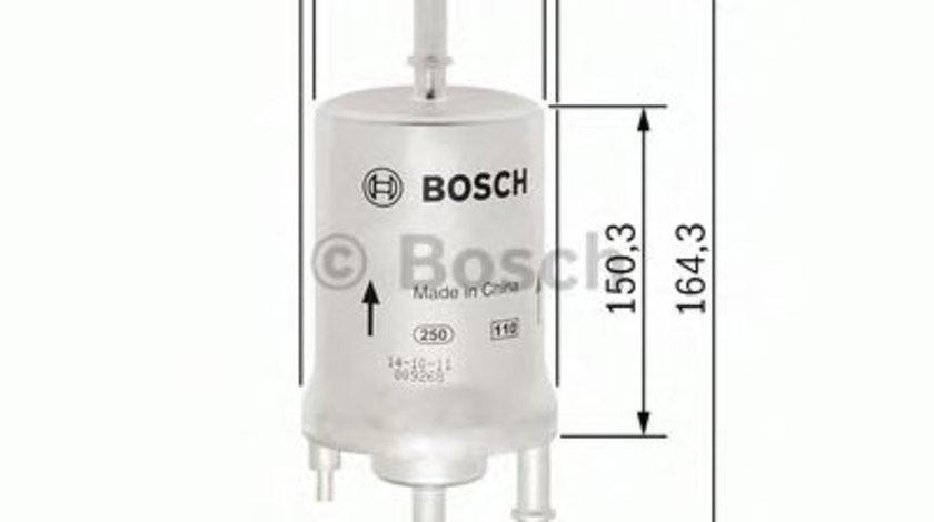 Filtru combustibil SKODA FABIA III Combi (NJ5) (2014 - 2016) BOSCH F 026 403 006 produs NOU