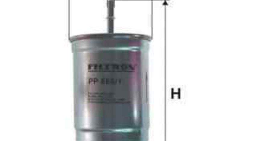 filtru combustibil VOLVO S60 I FILTRON PP866/1