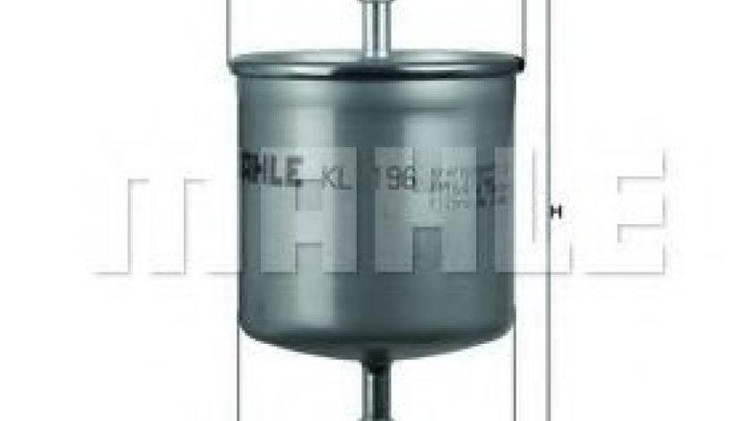 Filtru combustibil VOLVO S80 I (TS, XY) (1998 - 2006) MAHLE ORIGINAL KL 196 piesa NOUA