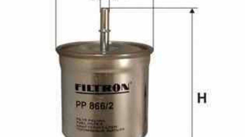 Filtru combustibil VOLVO V70 I LV FILTRON PP866/2