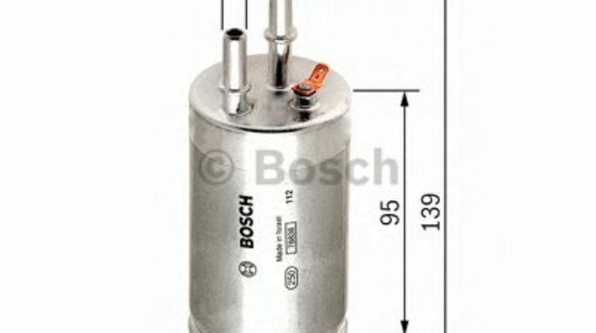 Filtru combustibil VOLVO V70 III (BW) (2007 - 2016) BOSCH F 026 403 014 piesa NOUA
