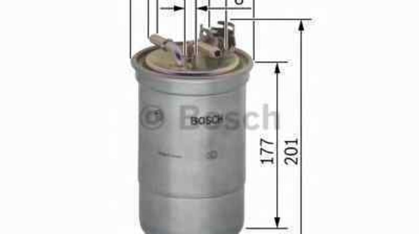 filtru combustibil VW NEW BEETLE (9C1, 1C1) BOSCH 0 450 906 374