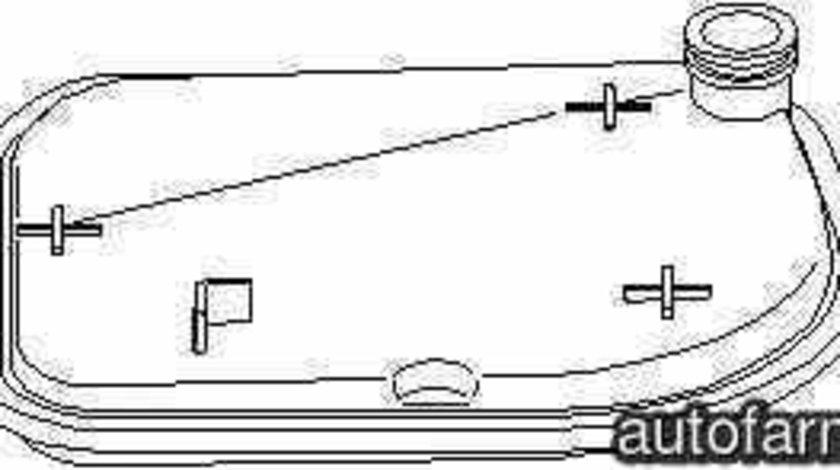 Filtru hidraulic cutie de viteze automata MERCEDES-BENZ A-CLASS W169 MERCEDES-BENZ 169 377 13 95