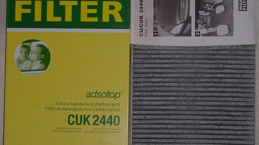 Filtru polen cu carbon activ mann pt volvo s40, v40