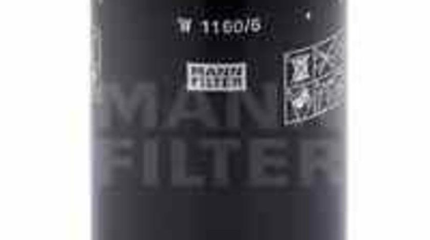 Filtru sistem hidraulic primar NEW HOLLAND TL MANN-FILTER W 1160/6