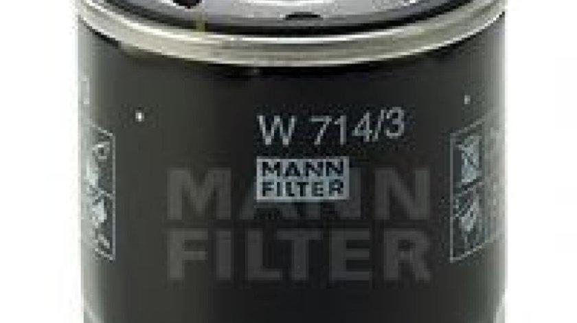 Filtru ulei ALFA ROMEO 147 (937) (2000 - 2010) MANN-FILTER W 714/3 produs NOU