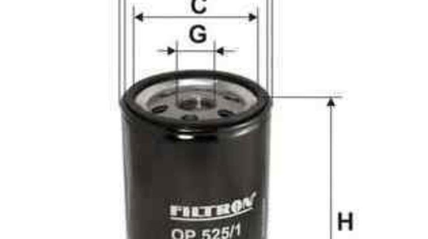 Filtru ulei AUDI 80 (8C, B4) FILTRON OP525/1