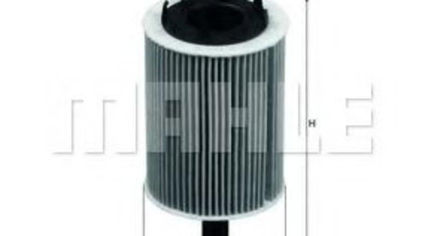 Filtru ulei AUDI A2 (8Z0) (2000 - 2005) MAHLE ORIGINAL OX 188D produs NOU