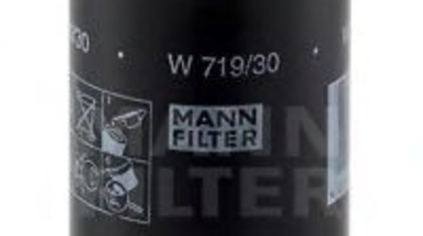 Filtru ulei AUDI A4 Cabriolet (8H7, B6, 8HE, B7) (2002 - 2009) MANN-FILTER W 719/30 produs NOU