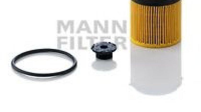 Filtru ulei BMW Seria 3 (F30, F35, F80) (2011 - 2016) MANN-FILTER HU 8002 x KIT produs NOU