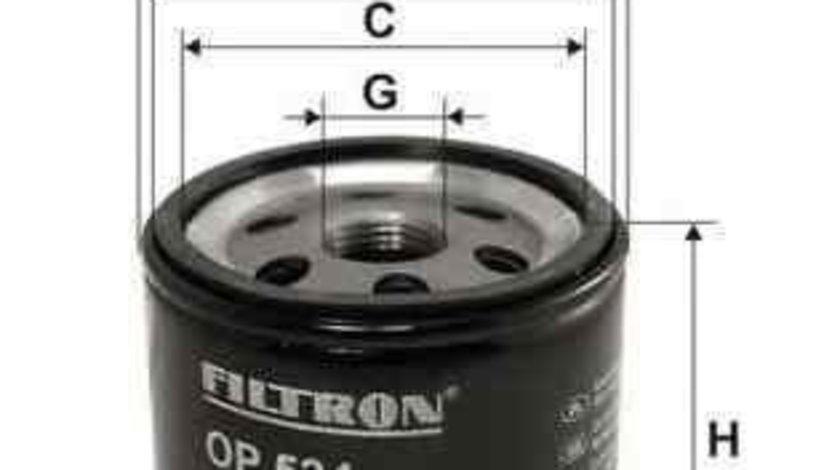 Filtru ulei CHRYSLER PT CRUISER (PT_) FILTRON OP534