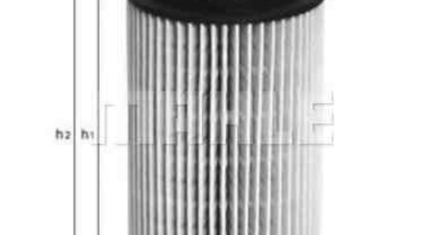 Filtru ulei CHRYSLER PT CRUISER (PT_) KNECHT OX 153D4