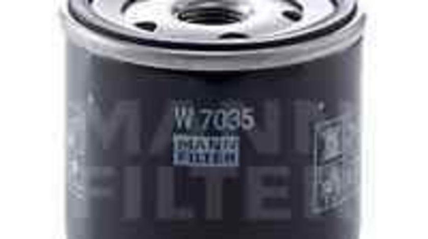 Filtru ulei CHRYSLER PT CRUISER (PT_) MANN-FILTER W 7035