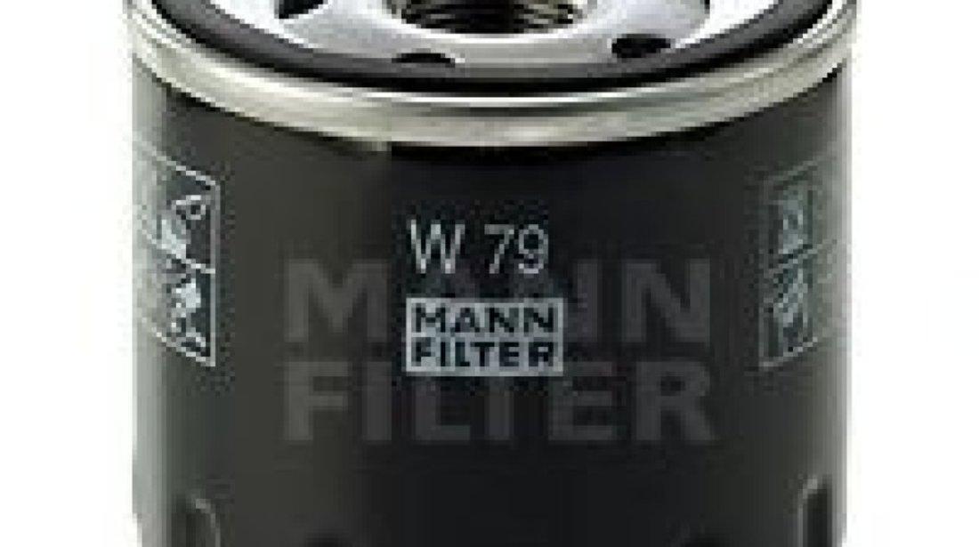 Filtru ulei DACIA DUSTER Caroserie (2011 - 2016) MANN-FILTER W 79 - produs NOU