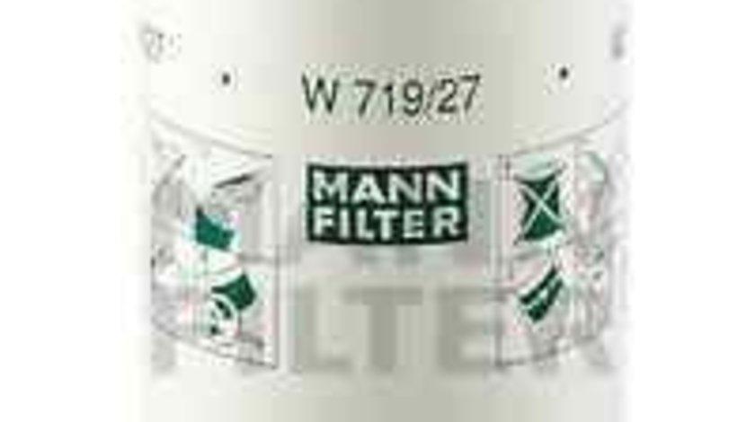 Filtru ulei FORD MONDEO I (GBP) Producator MANN-FILTER W 719/27