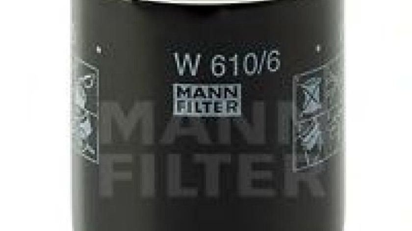 Filtru ulei HONDA CIVIC IX Limuzina (FB, FG) (2011 - 2016) MANN-FILTER W 610/6 piesa NOUA