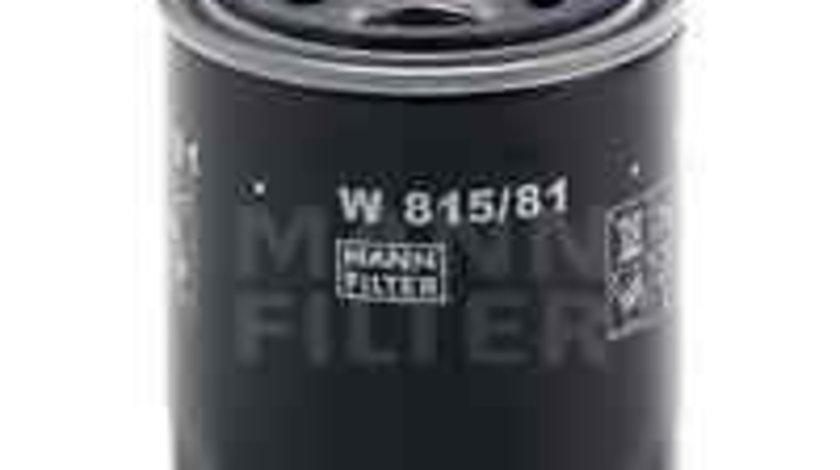 Filtru ulei HONDA CRX I (AF, AS) MANN-FILTER W 815/81