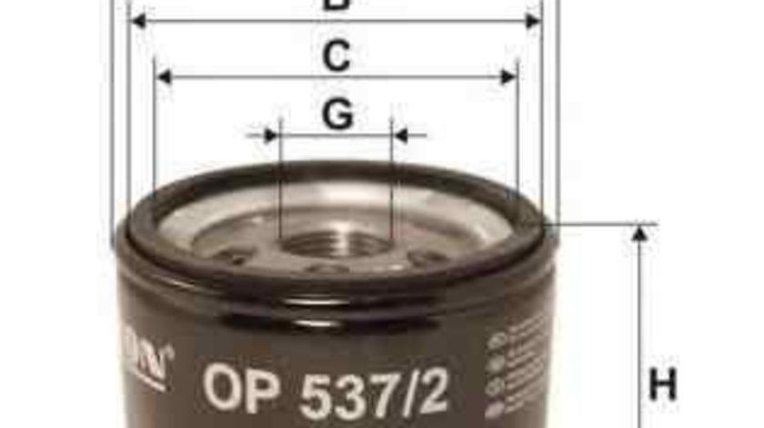 Filtru ulei LANCIA LYBRA SW (839BX) FILTRON OP537/2