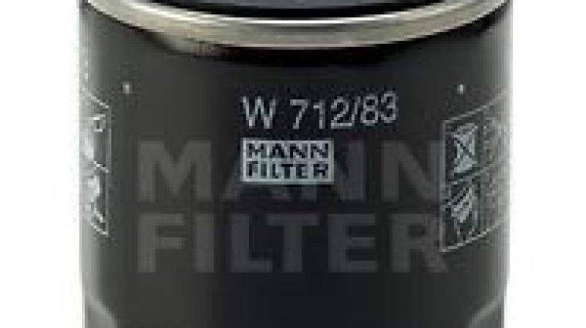 Filtru ulei LEXUS IS I (JCE1, GXE1) (1999 - 2005) MANN-FILTER W 712/83 piesa NOUA