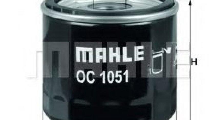Filtru ulei MAZDA 2 (DY) (2003 - 2016) MAHLE ORIGINAL OC 1051 produs NOU