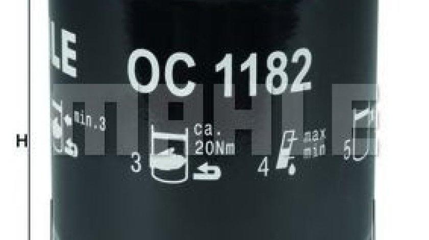 Filtru ulei MAZDA 3 Limuzina (BK) (1999 - 2009) MAHLE ORIGINAL OC 1182 produs NOU