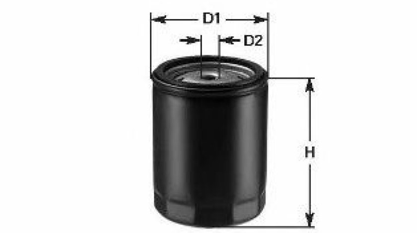 Filtru ulei MAZDA 3 Limuzina (BL) (2008 - 2016) CLEAN FILTERS DO 854/A produs NOU