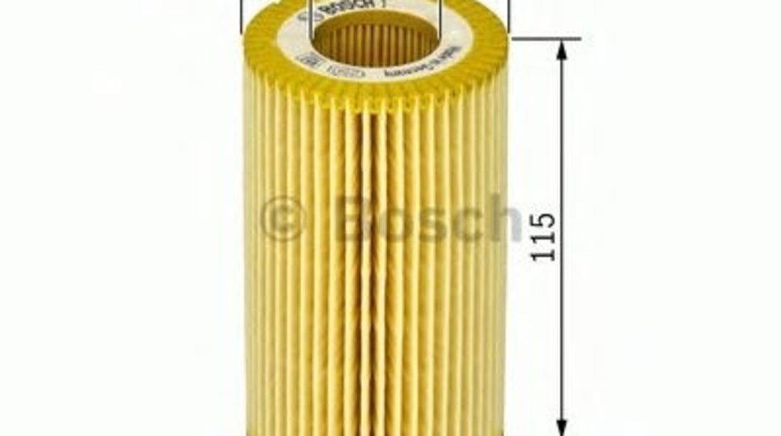 Filtru ulei MERCEDES CLK Cabriolet (A208) (1998 - 2002) BOSCH 1 457 429 263 - produs NOU