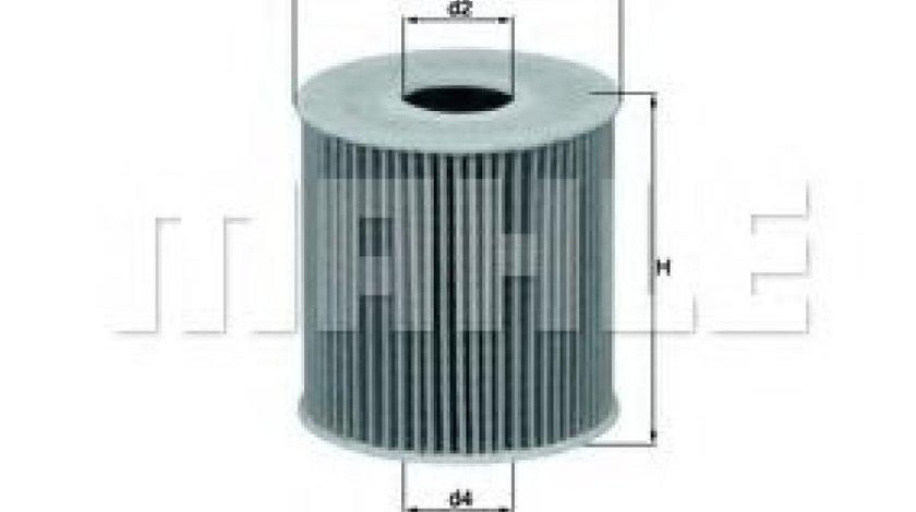 Filtru ulei MINI MINI COUNTRYMAN (R60) (2010 - 2016) KNECHT OX 339/2D produs NOU