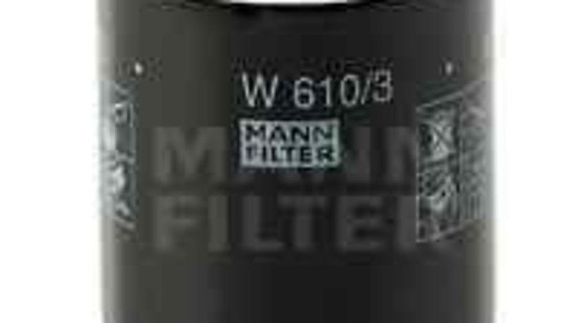 Filtru ulei MITSUBISHI COLT III (C5_A) Producator MANN-FILTER W 610/3