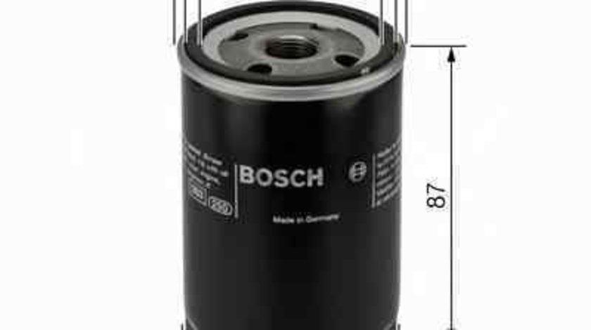 Filtru ulei MITSUBISHI COLT III (C5_A) Producator BOSCH 0 986 452 041