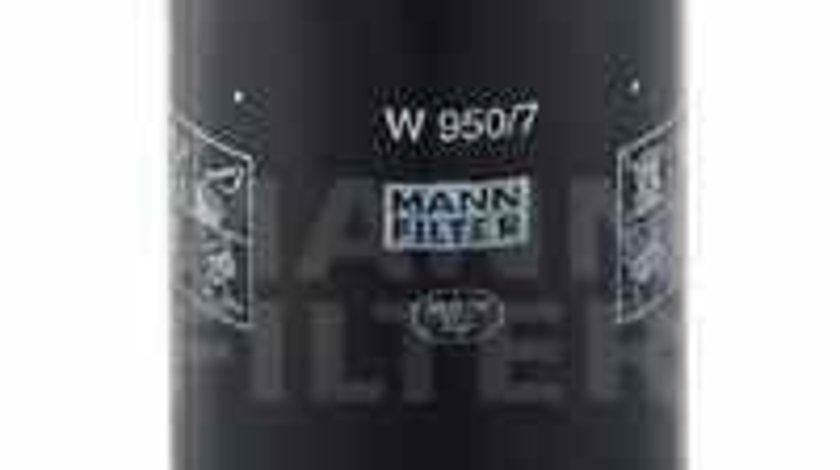Filtru ulei NISSAN ECO-T MANN-FILTER W 950/7