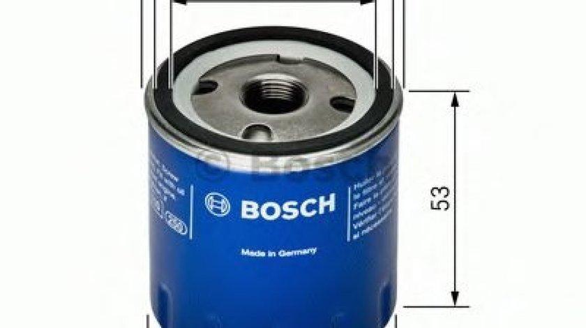 Filtru ulei NISSAN MICRA III (K12) (2003 - 2010) BOSCH 0 451 103 336 produs NOU