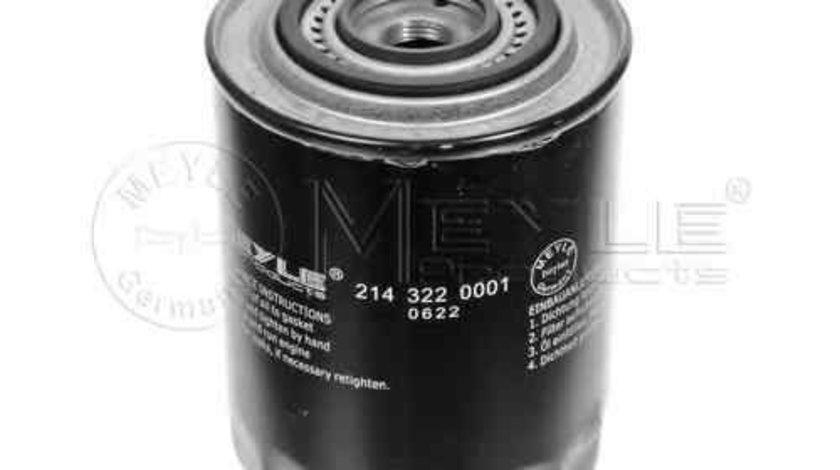 Filtru ulei PEUGEOT BOXER caroserie (230L) MEYLE 214 322 0001