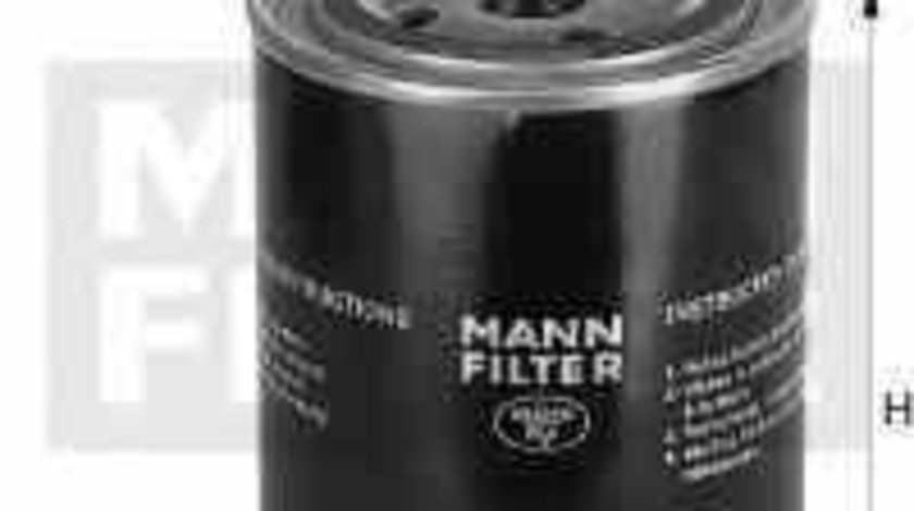 Filtru ulei Producator MANN-FILTER W 723/3