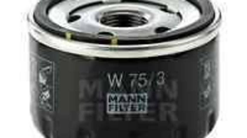 Filtru ulei RENAULT RAPID caroserie (F40_, G40_) Producator MANN-FILTER W 75/3