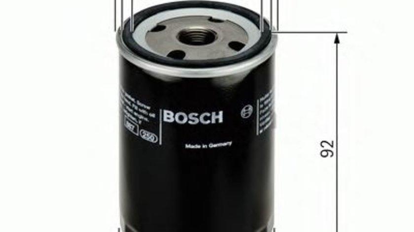 Filtru ulei SEAT CORDOBA Vario (6K5) (1999 - 2002) BOSCH 0 451 103 318 - produs NOU