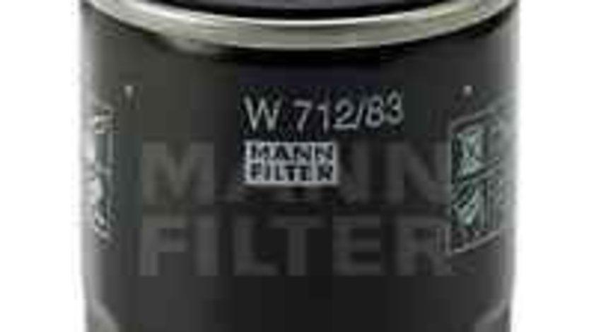 Filtru ulei TOYOTA COROLLA (_E8_) Producator MANN-FILTER W 712/83