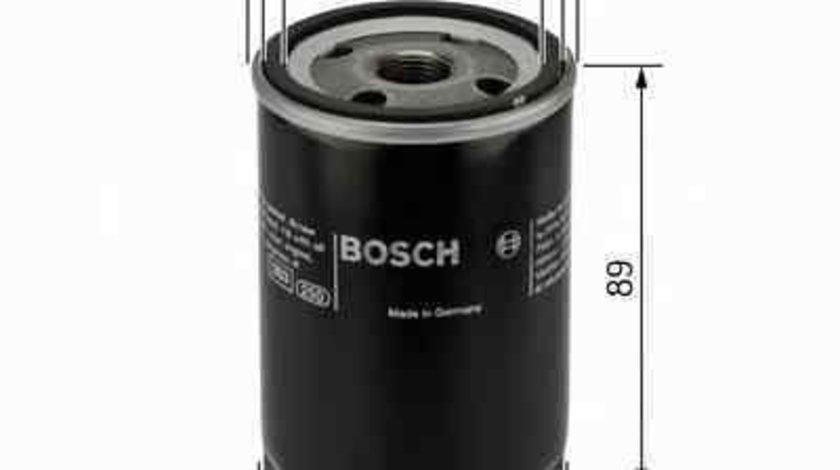 Filtru ulei TOYOTA COROLLA (_E9_) Producator BOSCH 0 986 452 044