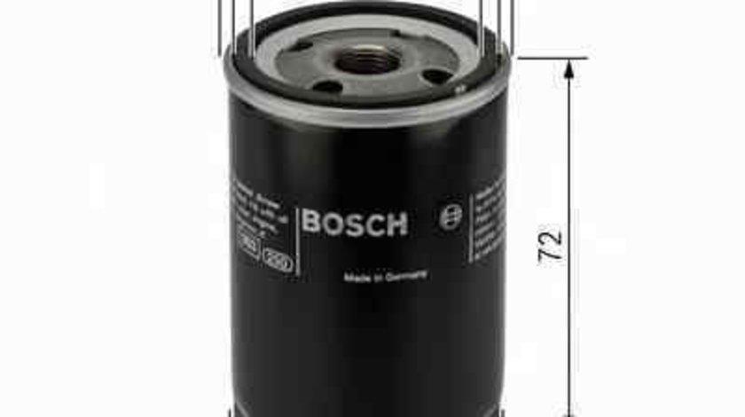 Filtru ulei TOYOTA RAV 4 I (SXA1_) Producator BOSCH 0 986 452 028