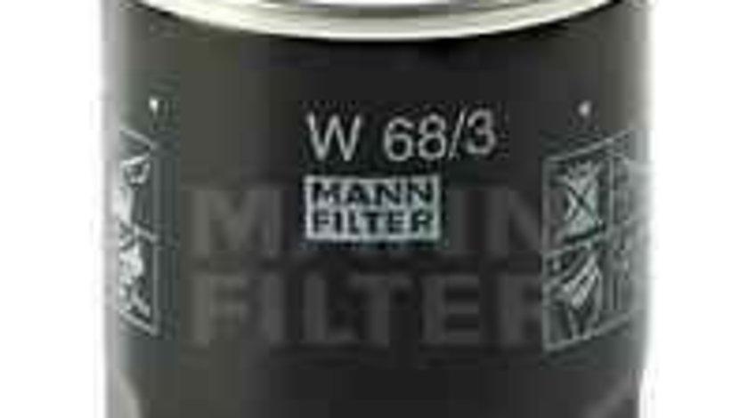 Filtru ulei TOYOTA RAV 4 I (SXA1_) Producator MANN-FILTER W 68/3