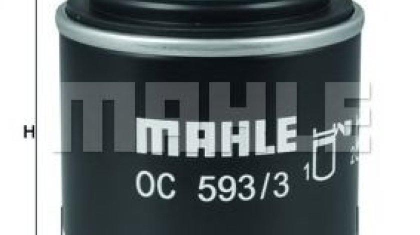 Filtru ulei VW PASSAT CC (357) (2008 - 2012) MAHLE ORIGINAL OC 593/3 piesa NOUA