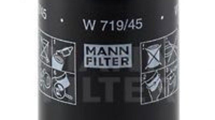 Filtru ulei VW PASSAT CC (357) (2008 - 2012) MANN-FILTER W 719/45 piesa NOUA