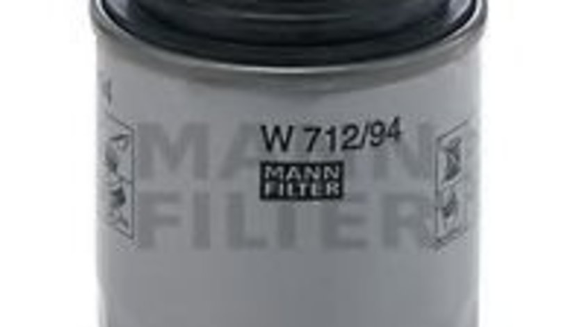 Filtru ulei VW PASSAT CC (357) (2008 - 2012) MANN-FILTER W 712/94 piesa NOUA