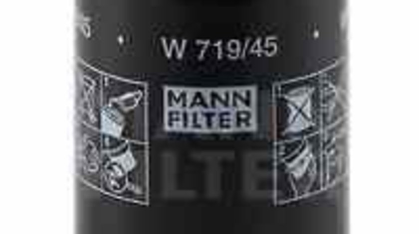 Filtru ulei VW PASSAT CC 357 MANN-FILTER W 719/45