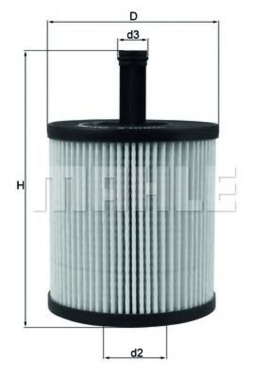 Filtru ulei VW TOUAREG (7LA, 7L6, 7L7) (2002 - 2010) KNECHT OX 556D produs NOU