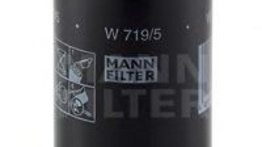 Filtru ulei VW VENTO (1H2) (1991 - 1998) MANN-FILTER W 719/5 produs NOU