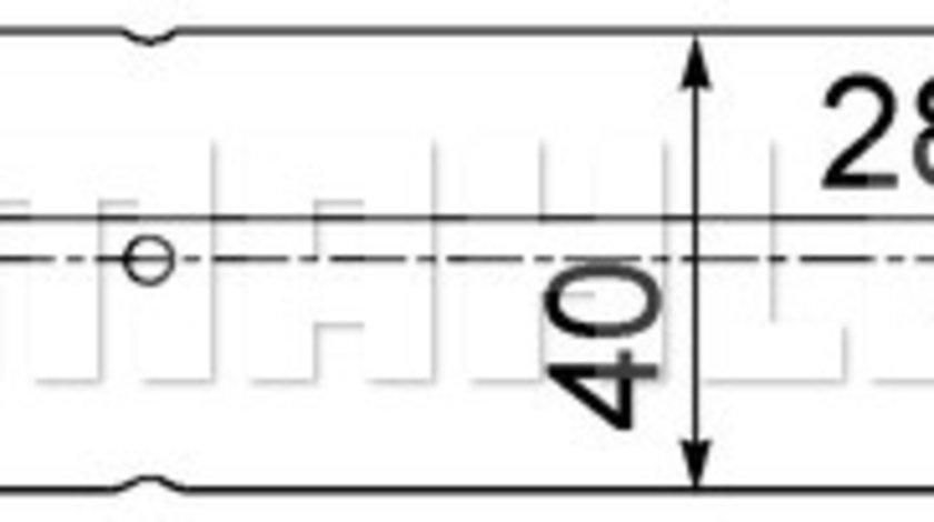 Filtru uscator AC LAND ROVER DISCOVERY III, DISCOVERY IV, RANGE ROVER III, RANGE ROVER SPORT 2.7D-5.0 dupa 2002